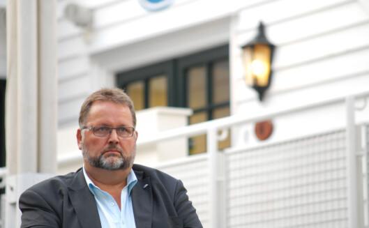 Svein Harberg i Høyre. Foto: Martin Huseby Jensen