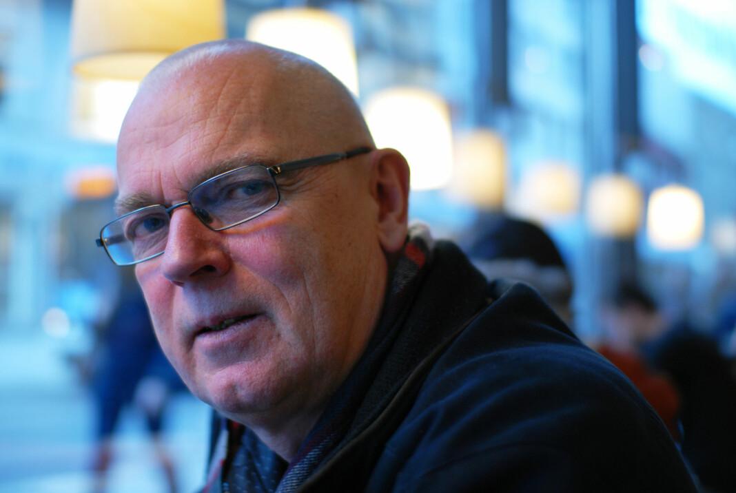 Skup-leder John Bones bidrar med gravekurs for LLA-medlemmene dagen før årets Skup-konferanse starter i Tønsberg. Arkivfoto