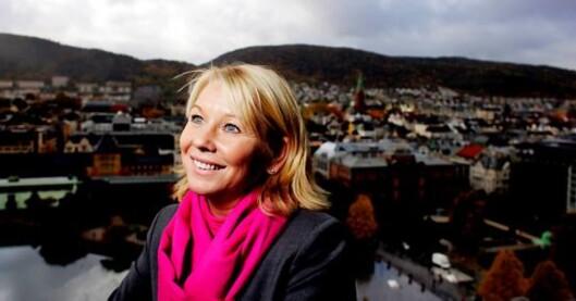 Monica Mæland, tidligere byrådsleder i Bergen.