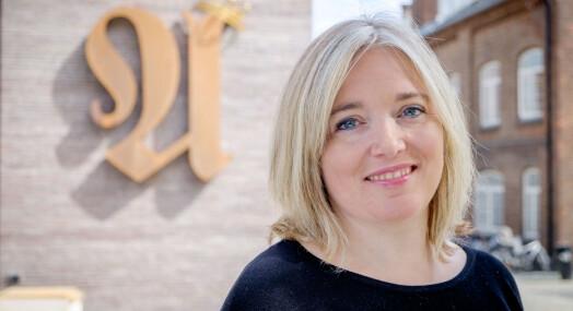 Valgpraten: Før hun kom inn i mediebransjen fikk Tone Sofie Aglen kjenne på den underlige følelsen av å stemme på seg selv