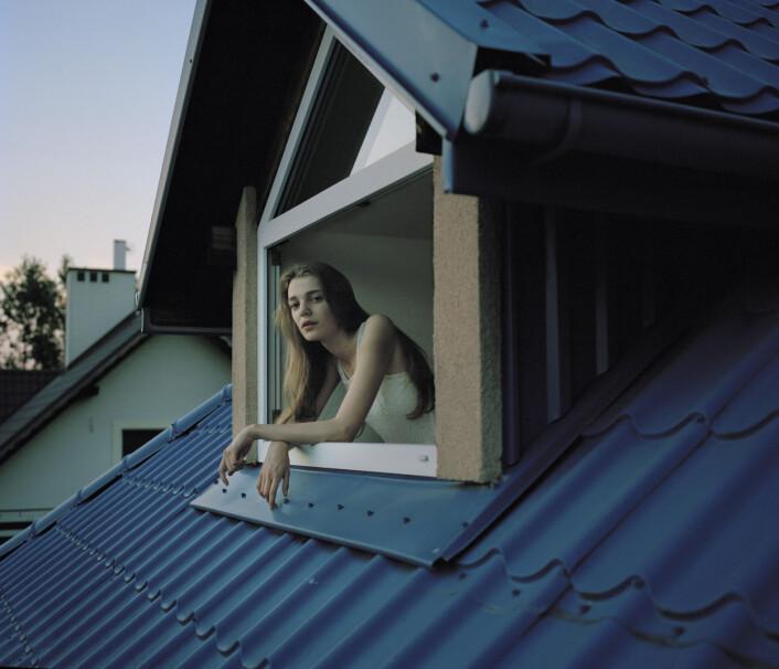 Agata (17)<em></em>har hatt spiseforstyrrelser i to år. Foto: Marie Hald/Moment/INSTITUTE