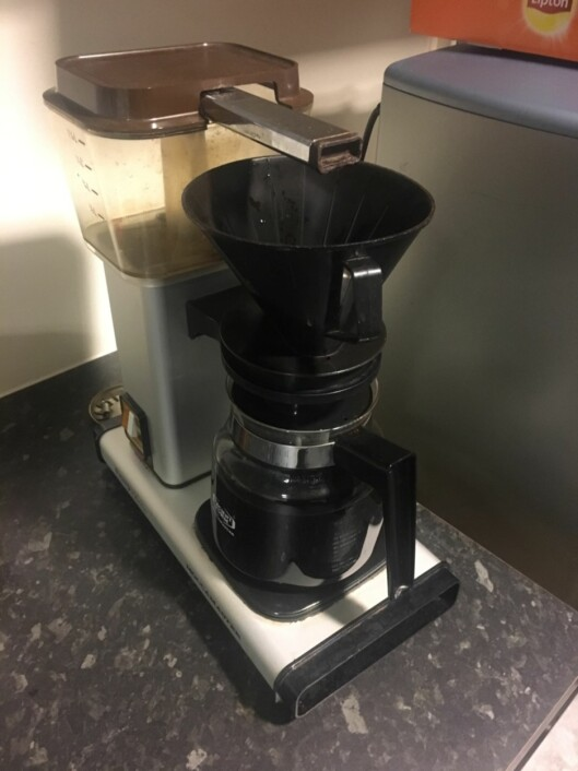 Legendarisk kaffetrakter