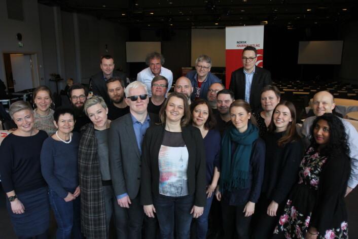 I mars ble Eirin Larsen valgt inn som vara da det nye landsstyret ble vedtatt. Foto: Martin Huseby Jensen