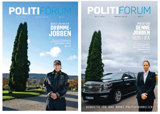 Politiforums doble forside.