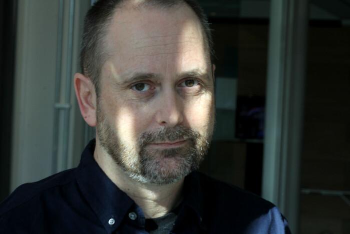Jarle Aasland, leder Pressefotografens Klubb