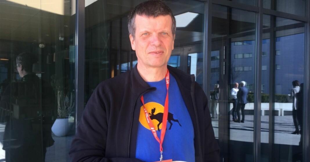Klubbleder Gunnar Kagge i Aftenposten. Arkivfoto: Angelica Hagen