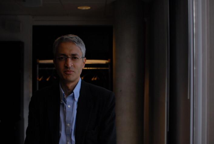 Madhav Chinappa i Google er opptatt av å bidra til innovasjon i nyhetsorganisasjoner. Foto: Martin Huseby Jensen