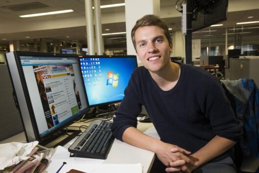 Rampelys-sjef Atle Jørstad i VG.