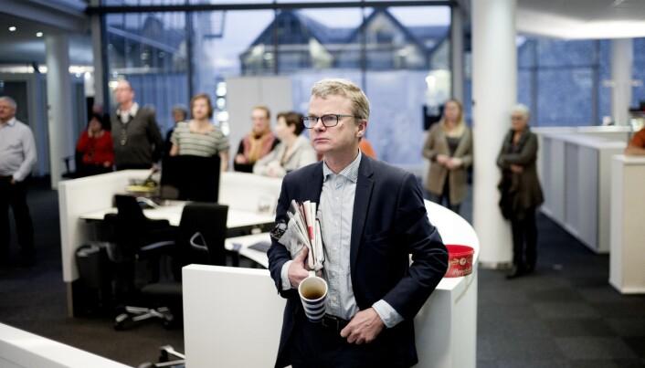 Lars Helle, sjefredaktør i Stavanger Aftenblad.