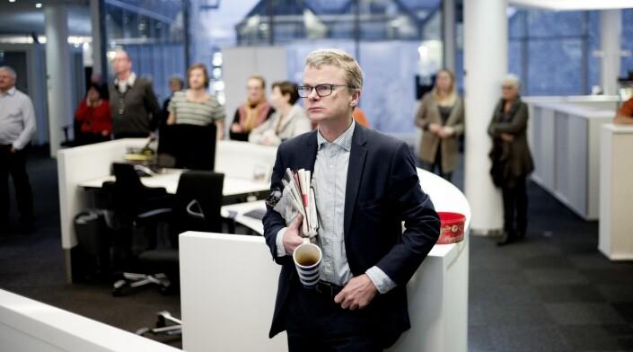 Valgpraten: Lars Helle stemmer vanligvis ikke. – Et slags opprørsk statement om å ikke bidra til å bekrefte det etablerte systemet