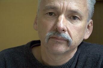 Universitetslektor Bernt Eide ved Oslomet. Arkivfoto: Øystein Lie