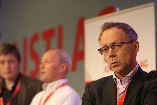 Sjefredaktør John Arne Markussen i Dagbladet.<br>Foto: Martin Huseby Jensen