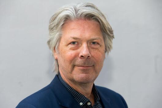 Nyhetsredaktør Erik Stephansen håper politiet tar tak i<br>anmeldelsen. Bilde: Paul Weaver