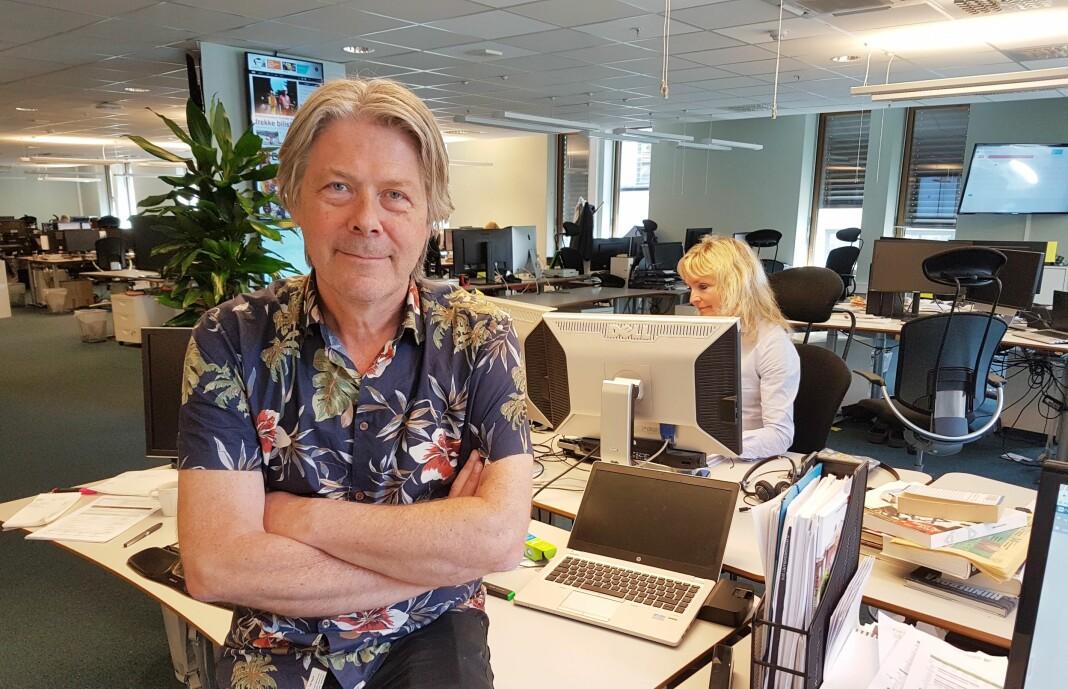 Nyhetsredaktør Erik Stephanasen i Nettavisen mener at kommentarfeltene i sin nåværende form tilfører lite positivt. Arkivfoto: Bjørn Åge Mossin