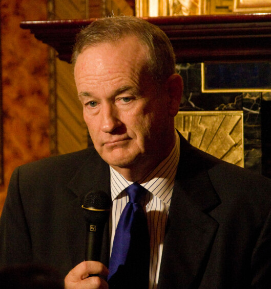 Bill O'Reilly. Foto:Foto: Justin Hoch, Wikimedia Commons