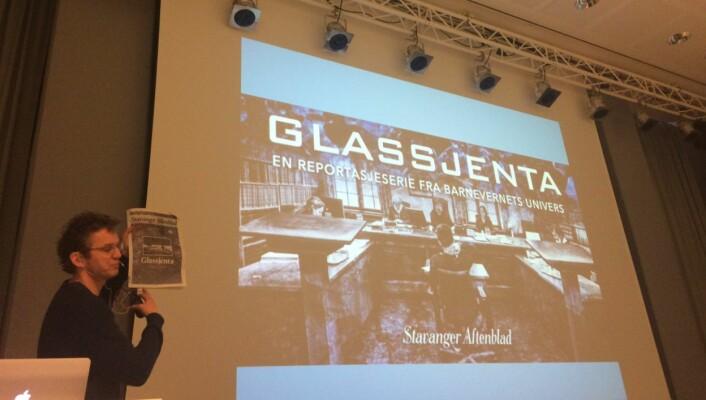 Thomas Ergo i Stavanger Aftenblad holdt foredrag i 2016 om hvordan de laget historien om Glassjenta, med spesielt fokus på fortellergrepene. Han ble etter konferansen med i dugnadsgjengen og arbeidsgruppen bak årets konferanse.