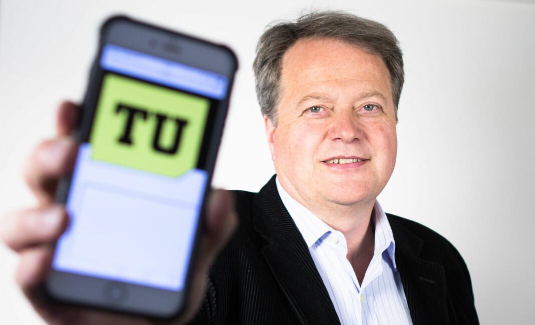 TU-sjef Jan Moberg må kutte kostnader. 19 personer blir nå permittert.