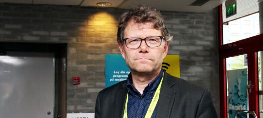 Stein Bjøntegård i NRK. Foto: Birgit Dannenberg