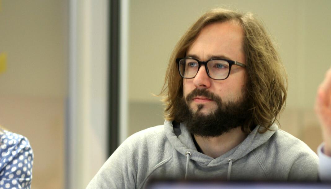 Filter-redaktør Harald Klungtveit.