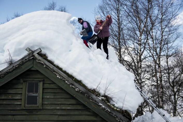 Er det mening i å produsere mat på et sted som er dekket av snø og is halve året?
