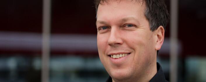 Øyvind Solstad er ansvarlig for sosiale<br>medier i VG.