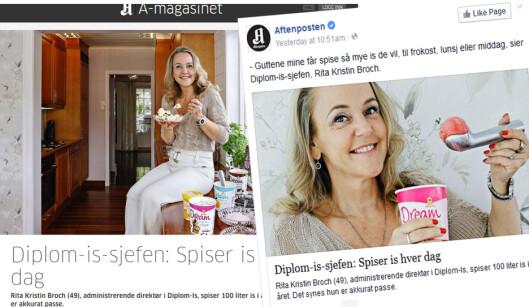 Aftenposten tok selvkritikk for uheldig kobling mellom person og produkt i denne papir- og nettsaken i 2015.