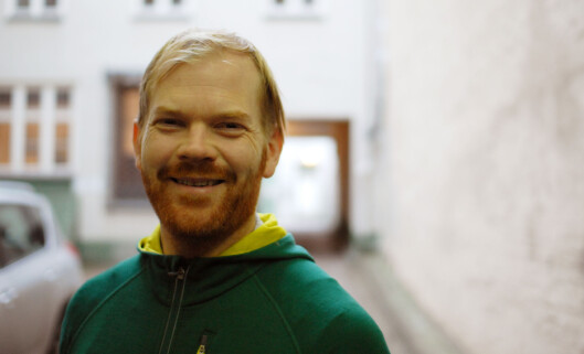 Sveinung Uddu Ystad leder Pressefotografens Klubb<br>Foto: Martin Huseby Jensen