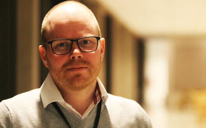 VGs strategi er å flytte folk ditt nyhetene skjer forteller<br>nyhetsredaktør Gard Steiro. Foto: Martin Huseby Jensen