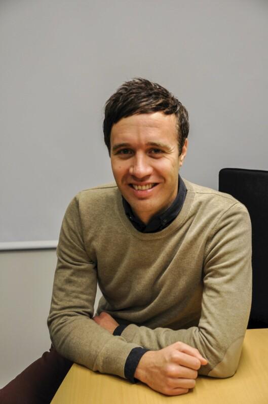 Sjefsredaktør i Finnmark dagblad,<br>Arne Reginiussen.