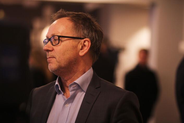 Utenriks er viktig også uten faste korrespondenter, mener<br>Dagbladets sjefredaktør John Arne Markussen.<br>Foto: Martin Huseby Jensen
