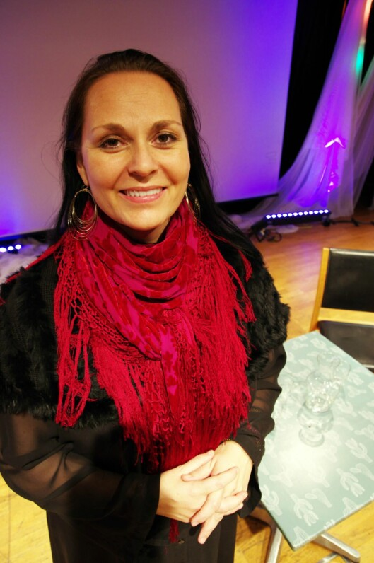 Hill-Aina Steffenach. Foto: Bjørn Lønnum Andreassen