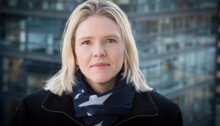 Innvandringsminister Sylvi Listhaug har havnet i diskusjon med Dagsavisens Hege Ulstein. Foto: Torbjørn Tandberg