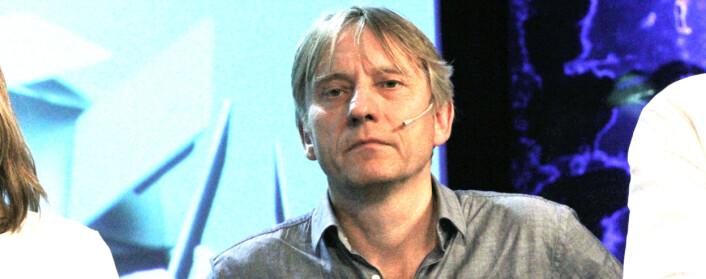 Ansvarlig redaktør Magne Storedal i Romerikes Blad. Foto: Birgit Dannenberg
