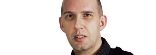 Frank Gander, nettsjef i NRK.