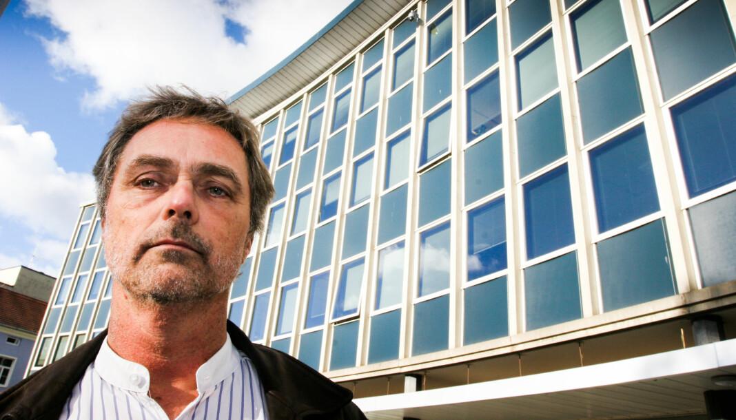 Sjefredaktør Carsten Bleness i Hamar Arbeiderblad sier til Medier24 at de ikke vet hvem som står bak dataangrepet. Arkivfoto: Martin Huseby Jensen