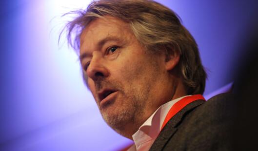 VG-sjef Torry Pedersen er ikke imponert over<br>debattnivået.Foto: Martin Huseby Jensen