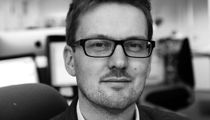 Ivar Anders Iversen sluttet på dagen i Morgenbladet etter fem år som redaksjonssjef. Foto: Morgenbladet