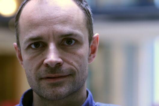 Tor Olav Mørseth vil ikke gi fra seg redaktøransvaret<br>til Facebook. Foto: Martin Huseby Jensen