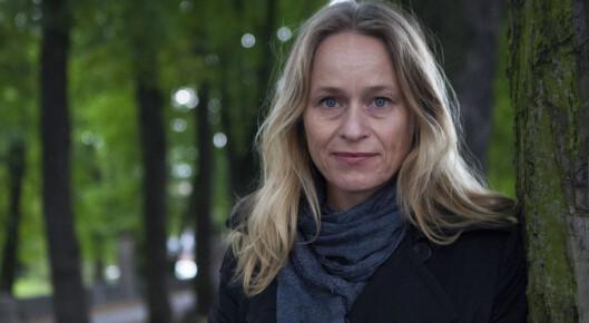 Irene Halvorsen mener det ikke er naturlov at lesertallene<br>på papir skal falle, men det er tøft å holde på leserne.<br>Foto: Henrikke Havass, Nationen