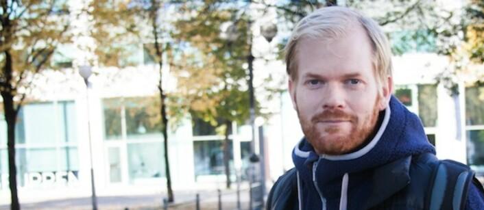 Sveinung Uddu Ystad er leder for Pressefotografenes Klubb. Foto: Kathrine Geard