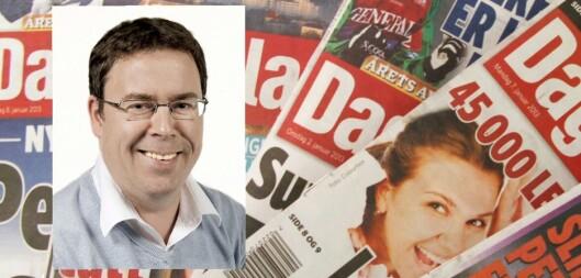 Frode Hansen er nyhetsredaktør i Dagbladet.<br>Foto: Arne Vedlog, Dagbladet