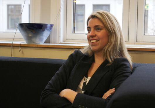 Nyhetsdirektør Alexandra Beverfjord i NRK.<br>Foto: Glenn Slydal Johansen