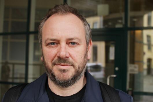 Lars Nyre er professor vedInstitutt for Informasjons- og<br>medievitenskap, Universitetet i Bergen. Foto:Kim E. Andreassen/uiB