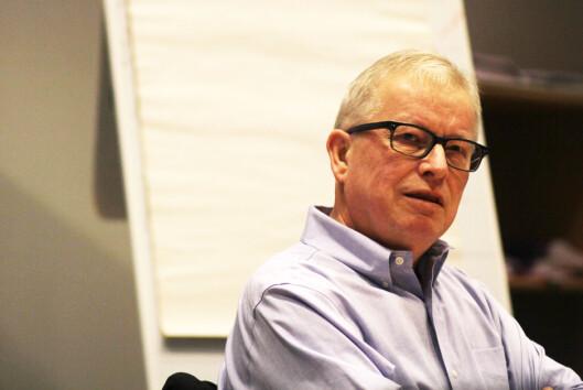 Bernt Olufsen er styreleder i Polaris Media.<br>Foto: Martin Huseby Jensen