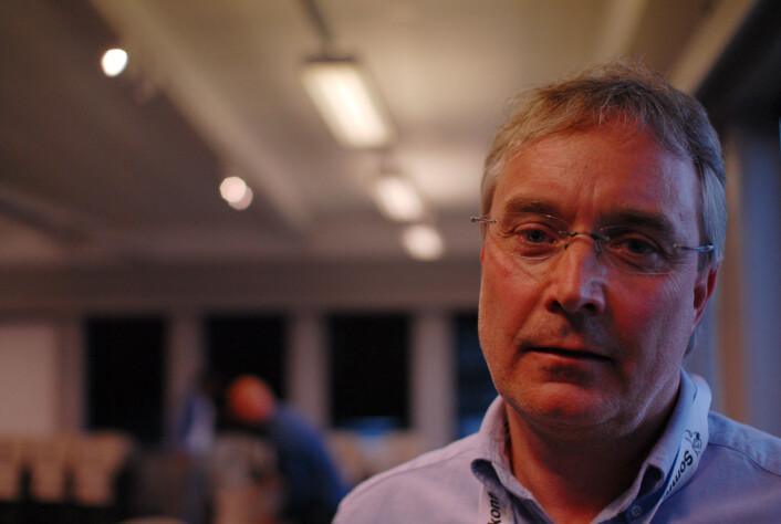 Morten Jørgensen etterlyser kritisk journalistikk på håndteringen av flyktningstrømmen til Norge.<br>Foto: Martin Huseby Jensen
