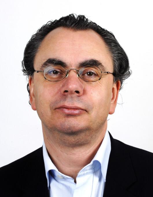 Kjell Werner er ansvarlig redaktør i Avisenes<br>Nyhetsbyrå.Foto: Terje Pedersen, ANB
