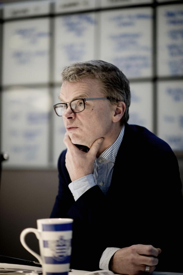 Sjefredaktør Lars Helle i Stavanger Aftenblad har mottatt forliksklage fra Morgan Andersen. Foto: Jan Inge Haga