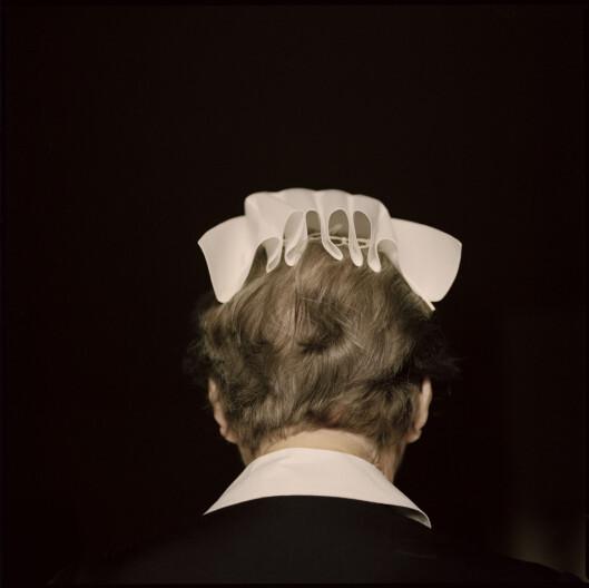 Søster Karla fra fotoprosjektet «Moderhuset».<br>Foto: Ellen Lande Gossner