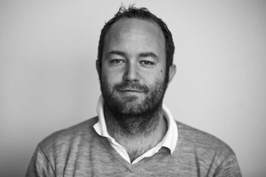 Yngve Garen Svardal er leder av redaksjonsklubben i<br>Nordhordland og leder av Bergen Journalistlag.<br>Foto: Morten Sæle, Nordhordland