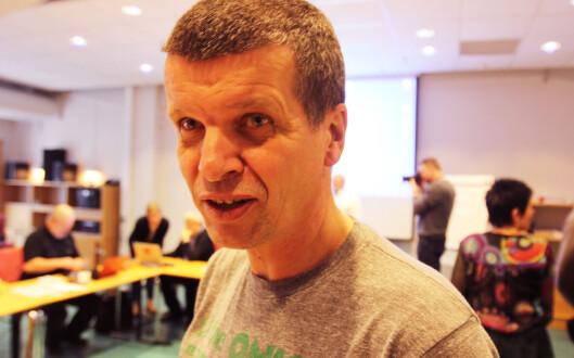 Gunnar Kagge får ikke være med denne gangen.<br>Foto: Martin Huseby Jensen